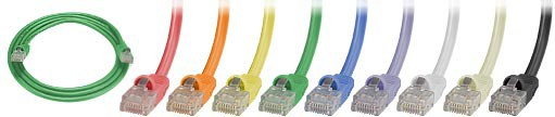 CAT5e Stranded Conductor Booted Patch Cable